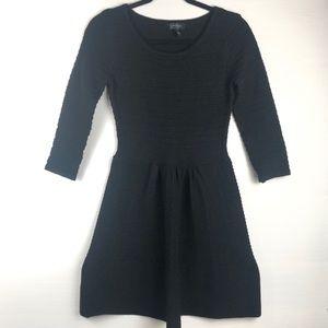 🐑 Jessica Simpson Black Sweater Dress, M.